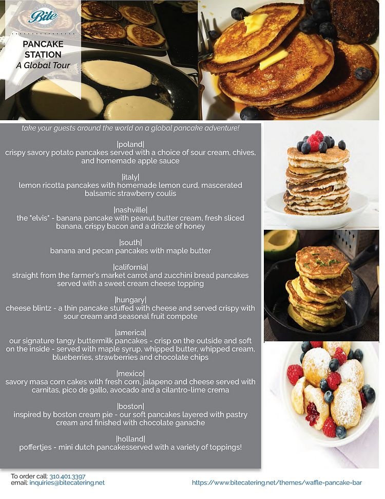 Pancake Station - A Global Tour of Pancakes