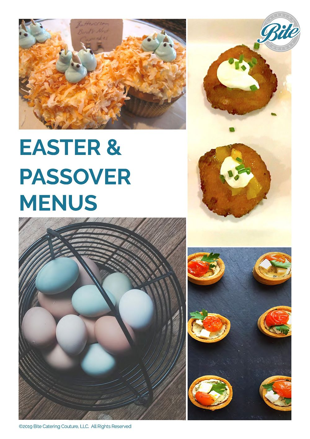 Easter & Passover Catering Menus