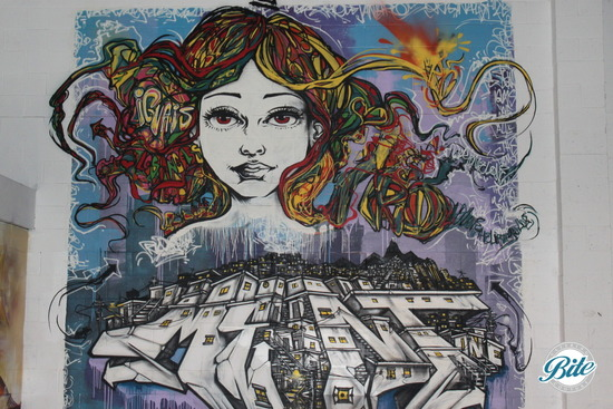 Mad Ave Graffiti Wall 6