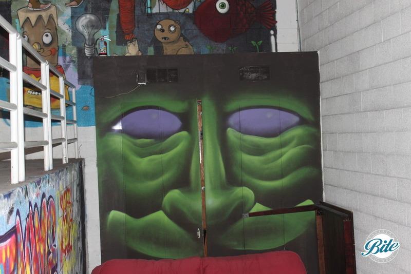 Mad Ave Graffiti Wall 7