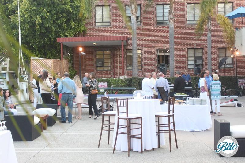 Santa Monica Company Anniversary Party Guests Entering