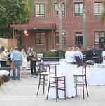 Santa Monica Company Anniversary Party Guests Entering