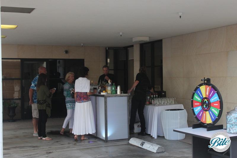 Santa Monica Company Anniversary Party Raffle