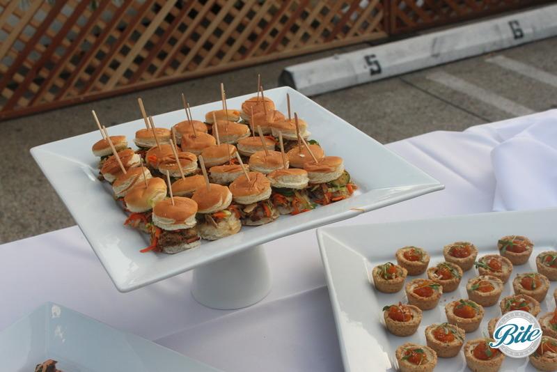 Santa Monica Company Anniversary Party Sliders