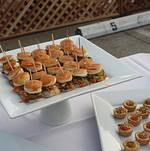 Santa Monica Company Anniversary Party Sliders