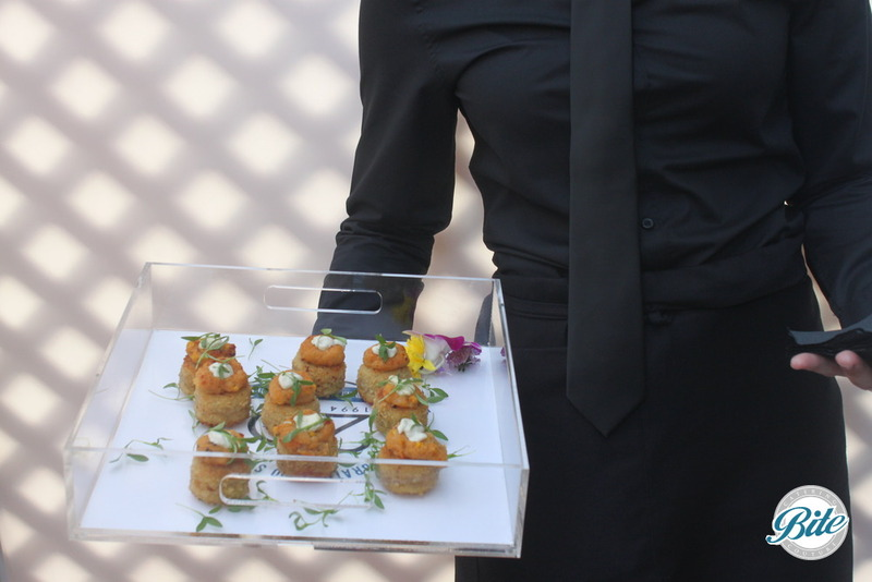 Santa Monica Company Anniversary Party Crab Cakes
