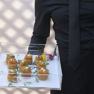 Santa Monica Company Anniversary Party Crab Cakes