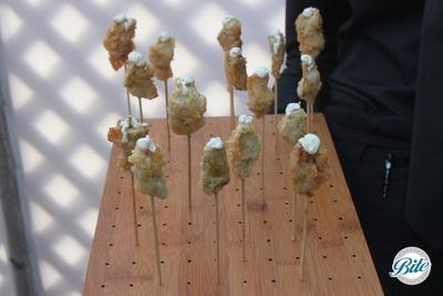 Santa Monica Company Anniversary Party Artichoke Beignets
