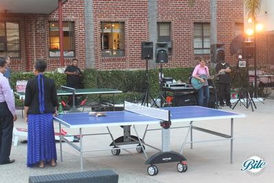 Santa Monica Company Anniversary Party Ping Pong