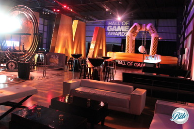 Hall of Games Party Setup
