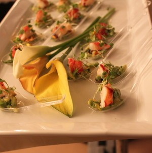 Lobster and Avocado Tasting Spoons