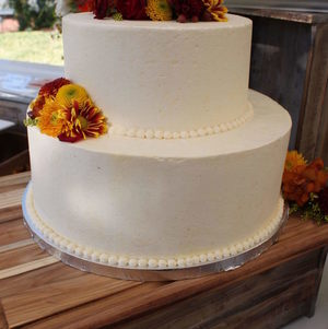 Closeup of Cake