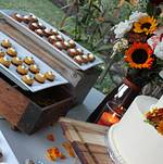 Backyard Wedding in Woodland Hills Dessert Station 1