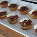 Backyard Wedding in Woodland Hills Pecan Tartlets