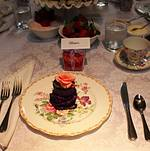 Bridal Shower Tea Party at Bite Bar Place Setting