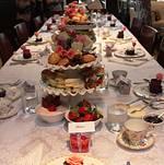 Bridal Shower Tea Party at Bite Bar Long View of Table