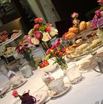 Bridal Shower Tea Party at Bite Bar Tablescape 1