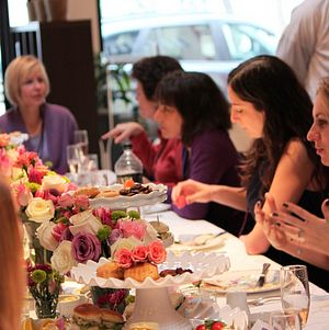 Bridal Shower Tea Party luncheon