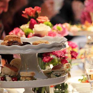 Bridal Shower Tea Party at Bite Bar Tea Platter