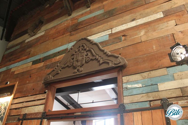 Mack Sennet Studios Wooden Walls