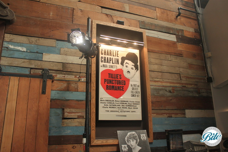 Mack Sennet Studios Charlie Chaplin Poster