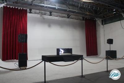 Mack Sennet Studios Soundstage One Psych Wall