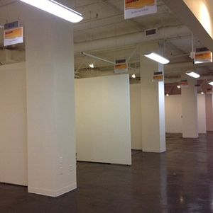 Magic Box Trade Show Floor White Partitions 1