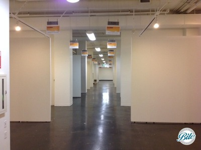 Magic Box Trade Show Floor White Partitions