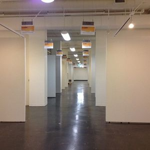 Magic Box Trade Show Floor White Partitions 2