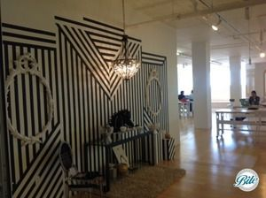 Magic Box Fashion Room Statement Wall