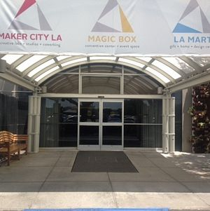 Magic Box Entrance