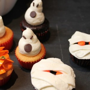 Spooky Halloween Cupcakes #Halloween