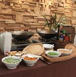 Asian Noodle Station at Corporate Event