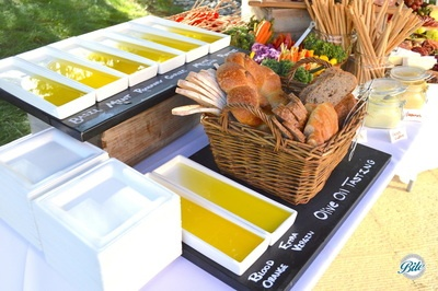 Olive Oil Station Closeup