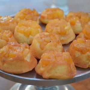 Mini Pineapple Upside Down Cake