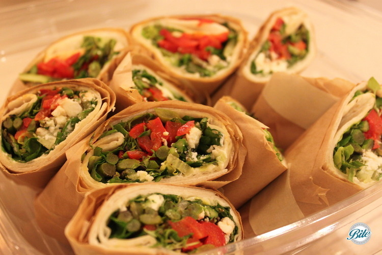 CALIFORNIA VEGGIE LOVERS WRAPS