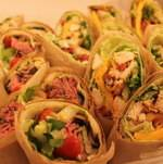Steak and Chicken Wraps