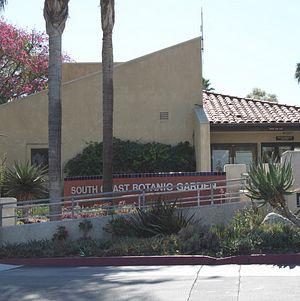 South Coast Botanical Garden Entrance