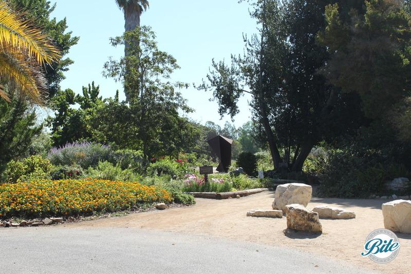 South Coast Botanic Garden Garden Entrance