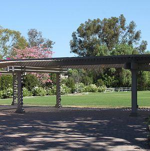 South Coast Botanic Garden Upper Meadow Entrance