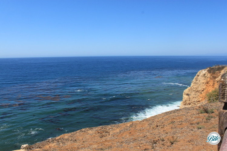 Beautiful ocean views from Point Vicente's location on the cliffs of Palos Verdes Peninsula