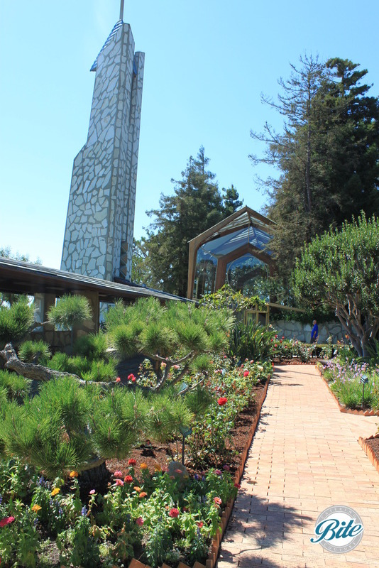 Wayfarer's Chapel Garden Entrance
