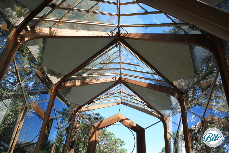 Wayfarer's Chapel Ceiling
