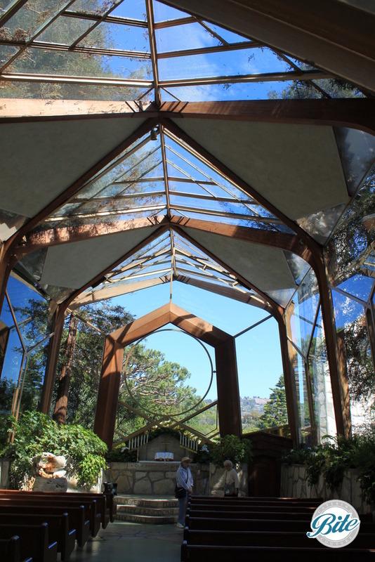 Wayfarer's Chapel Inside