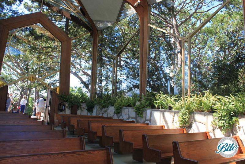 Wayfarer's Chapel Seats