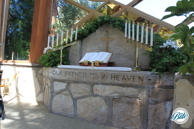 Wayfarer's Chapel Altar
