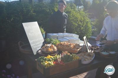 Market Vegetables and Meze Station