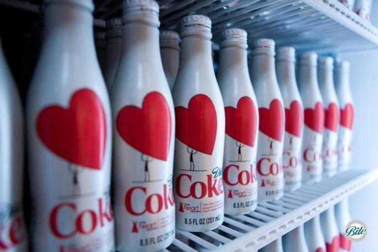 Red Heart health bottles