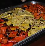 RideOn Fundraiser Grilled Vegetables