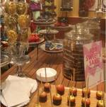 Sweets Display for high end celebrity purse launch (Hayden Panettiere clutch)